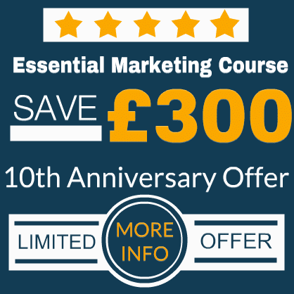 marketing training offer