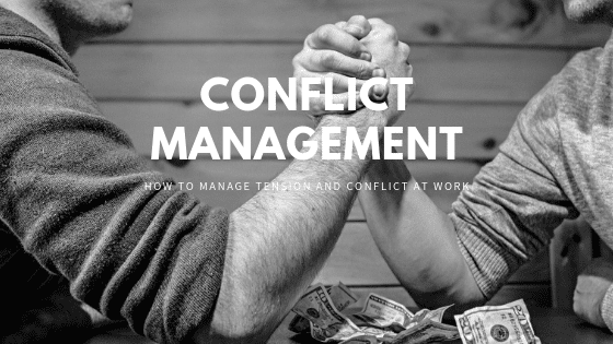 conflict management tips at work
